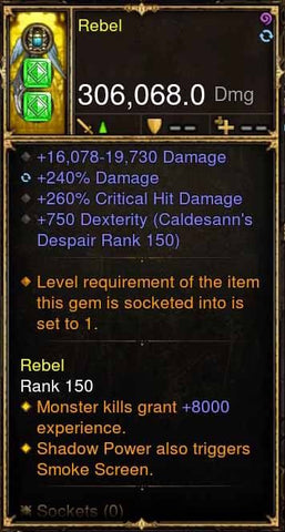Rebel Addon: 306k Actual DPS Liana's Wings Modded Bow-Diablo 3 Mods - Playstation 4, Xbox One, Nintendo Switch