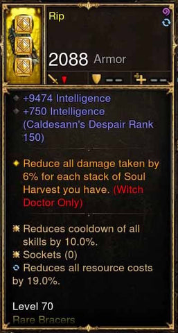 Rip Addon: Lakumba's Modded Bracers-Diablo 3 Mods - Playstation 4, Xbox One, Nintendo Switch