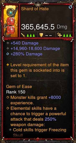 [Primal Ancient] 365k Actual DPS Shard of Hate-Diablo 3 Mods - Playstation 4, Xbox One, Nintendo Switch