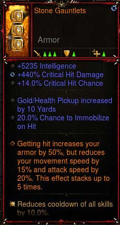 [Primal Ancient] 2.6.6 Stone Gauntlets Gloves