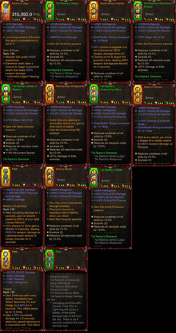 [Primal Ancient] 1-70 BobbaPearl's v3 Tal Rasha Wizard Set #B5