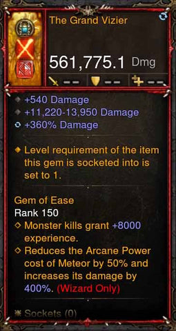 [Primal Ancient] [QUAD DPS] 2.6.1 The Grand Vizier 561K Actual DPS-Diablo 3 Mods - Playstation 4, Xbox One, Nintendo Switch