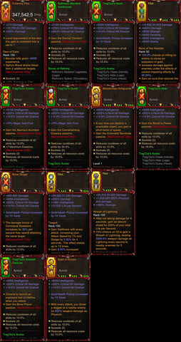 [Primal Ancient] 1-70 BobbaPearl's v3 Trang'Oul Necromancer Set #B7