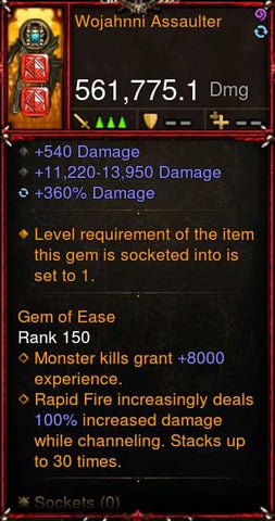 [Primal Ancient] [QUAD DPS] 2.6.5 Wojahnni Assaulter 561K DPS