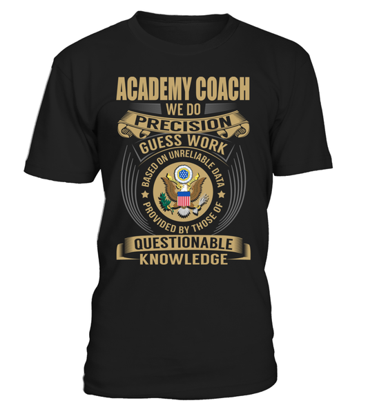 Academy Coach - We Do Precision Guess Work