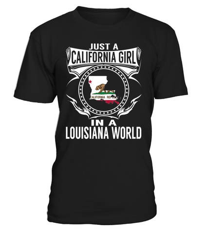 Just a California Girl in a Louisiana World