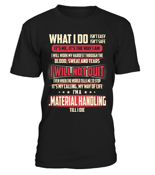 .Material Handling - What I Do