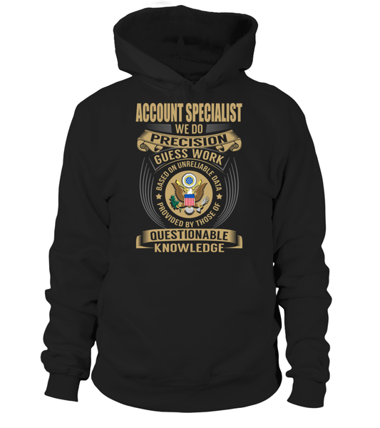 Account Specialist - We Do Precision Guess Work
