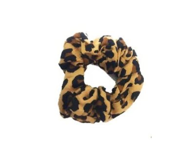 The Hold Me Tight Scrunchie Leopard