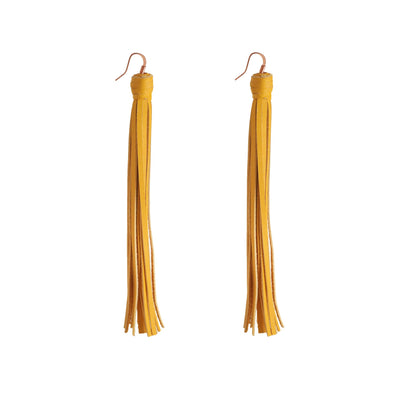 Rock 'n Fringe Bespoke Leather Earrings