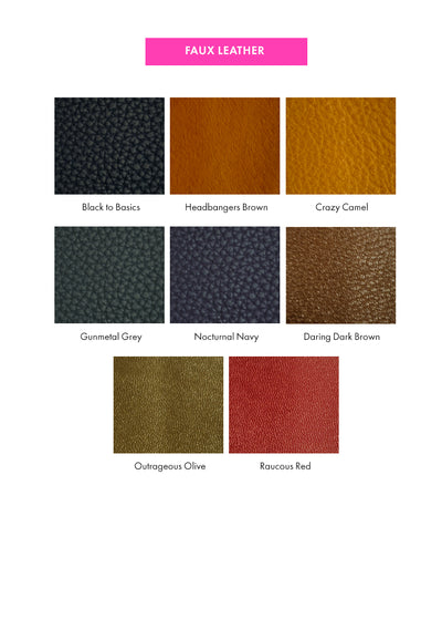 Jagged Edge Bespoke Faux Leather