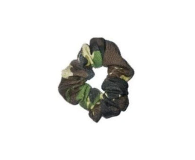 The Hold Me Tight Scrunchie Camo