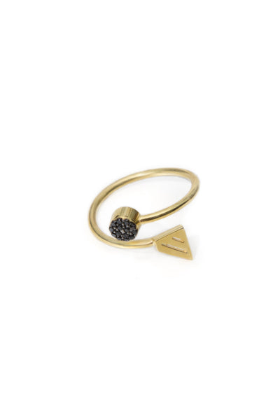 Bling geometry ring