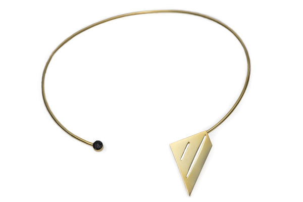 Geometry line Chocker necklace