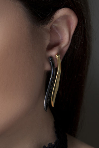 Cut to the chase single earring
