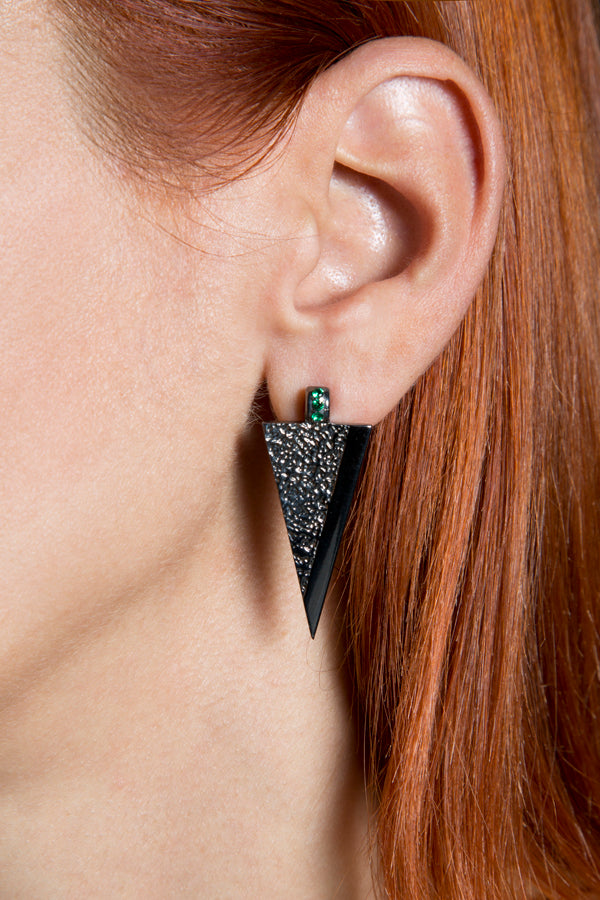On the edge ... Earrings