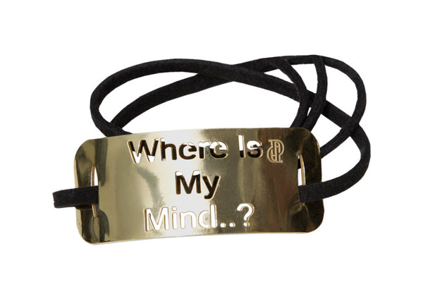 Where is my mind ...? bracelet
