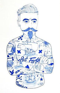 Blue Tat Man