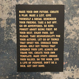 betternotstop Manifesto (Black)