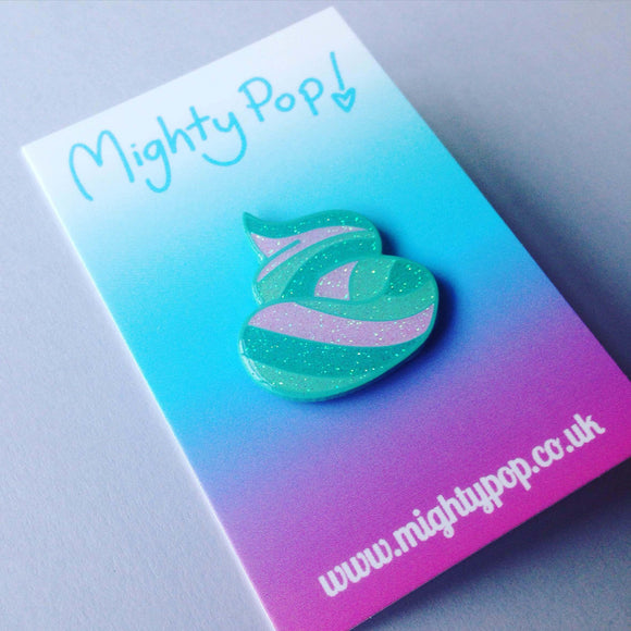 Mermaid Poo Pin