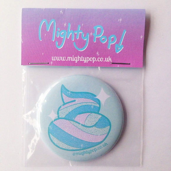 Mighty Pop Mermaid Poo Pocket Mirror