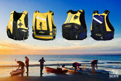 High quality lifejackets and PFD's for kayak fishing