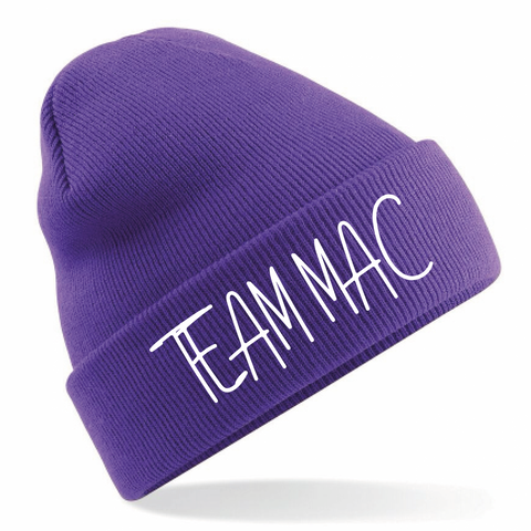 Purple Team Mac Beanie