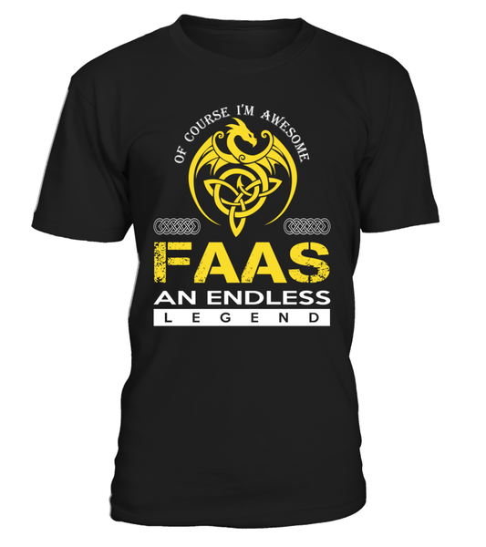 FAAS An Endless Legend Last Name T-Shirt