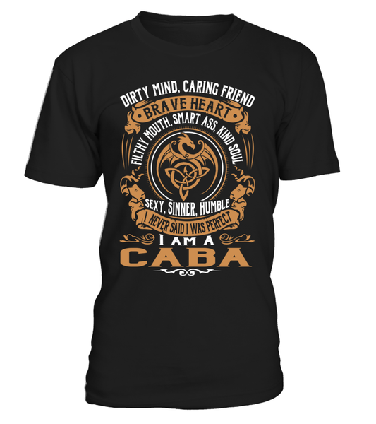 CABA Brave Heart Last Name T-Shirt