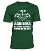 Team AGUILERA Lifetime Member Legend Last Name T-Shirt