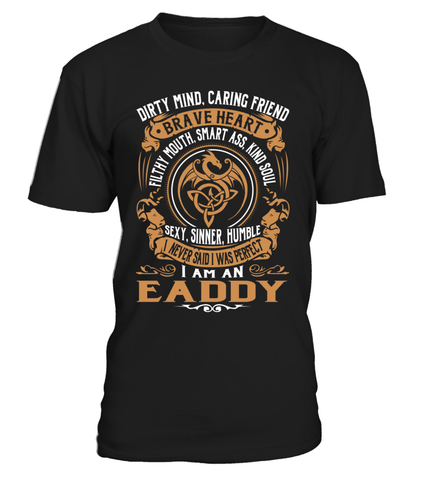 EADDY Brave Heart Last Name T-Shirt