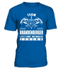Team BRANDENBERGER Lifetime Member Legend Last Name T-Shirt