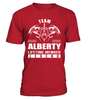 Team ALBERTY Lifetime Member Legend Last Name T-Shirt