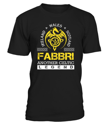 FABBRI Another Celtic Legend Last Name T-Shirt