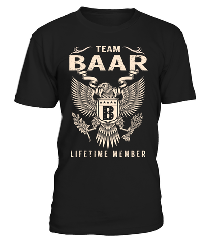 Team BAAR Lifetime Member Last Name T-Shirt