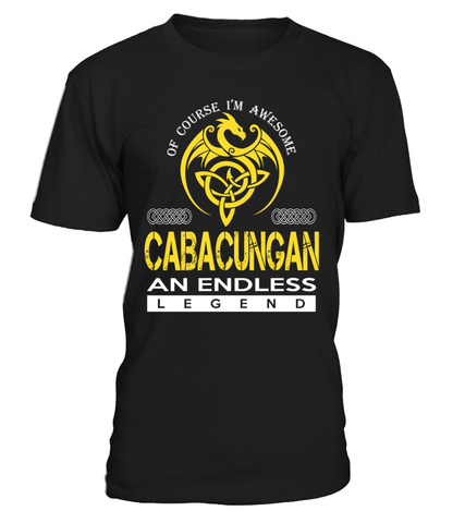 CABACUNGAN An Endless Legend Last Name T-Shirt