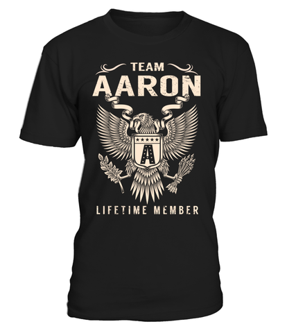 Team AARON Lifetime Member Last Name T-Shirt