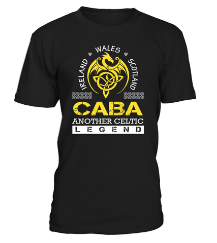 CABA Another Celtic Legend Last Name T-Shirt