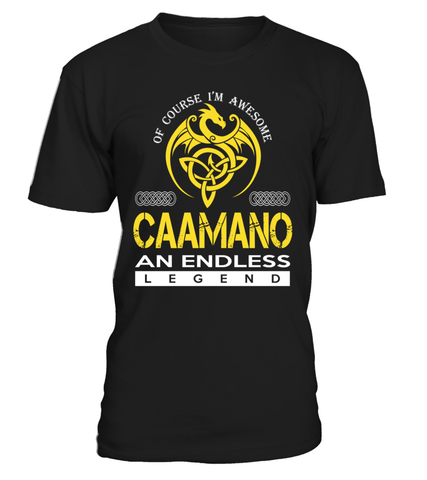 CAAMANO An Endless Legend Last Name T-Shirt