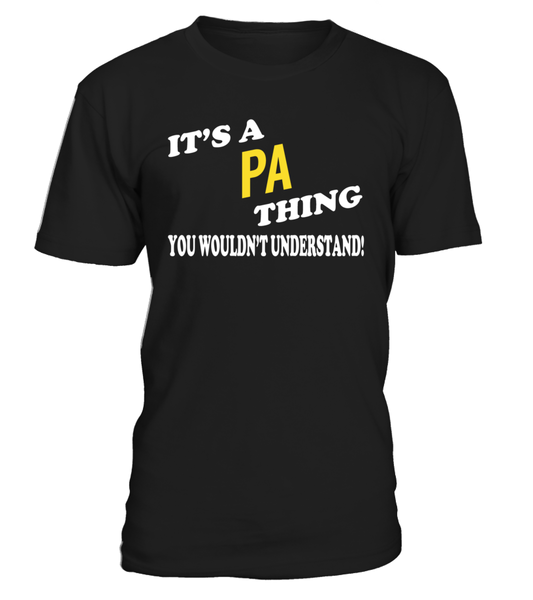 It's a PA Thing Name Shirts