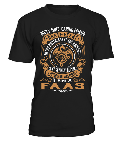 FAAS Brave Heart Last Name T-Shirt