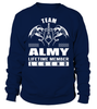 Team ALMY Lifetime Member Legend Last Name T-Shirt