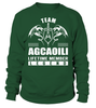 Team AGCAOILI Lifetime Member Legend Last Name T-Shirt