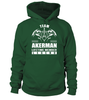 Team AKERMAN Lifetime Member Legend Last Name T-Shirt