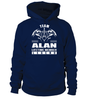 Team ALAN Lifetime Member Legend Last Name T-Shirt