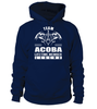 Team ACOBA Lifetime Member Legend Last Name T-Shirt