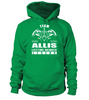 Team ALLIS Lifetime Member Legend Last Name T-Shirt