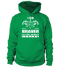 Team BRAVER Lifetime Member Legend Last Name T-Shirt