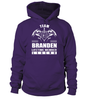 Team BRANDEN Lifetime Member Legend Last Name T-Shirt