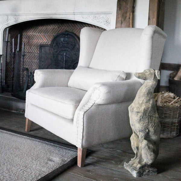 Love Seat - Herringbone